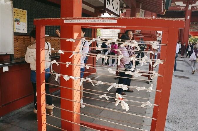 บรรยากาศภายในวัดเซนโซจิ (Sensō-ji Temple)