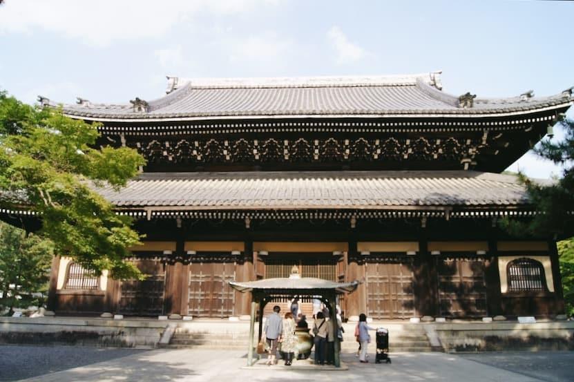 บรรยากาศภายในวัดนันเซ็นจิ (Nanzenji Temple)