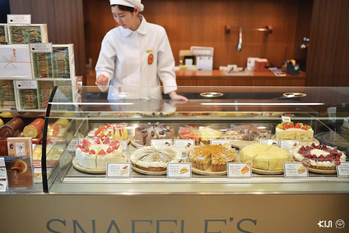 ขนมหวานน่าทานจากร้าน Hakodate Yogashi Snaffle's Sapporo Odori