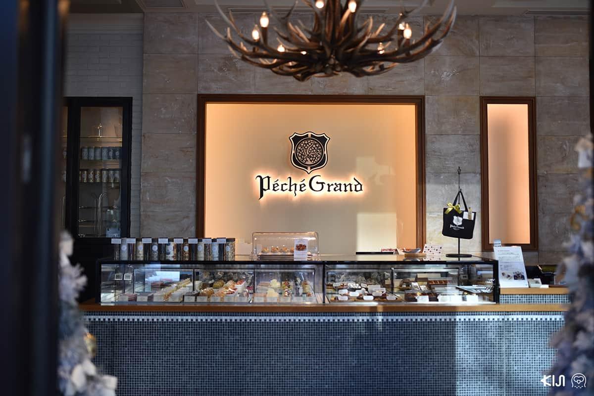 พามาชิมพาร์เฟต์เป็นของหวานปิดท้ายตามธรรมเนียม Shime Parfait กันที่ร้าน Peche Grand