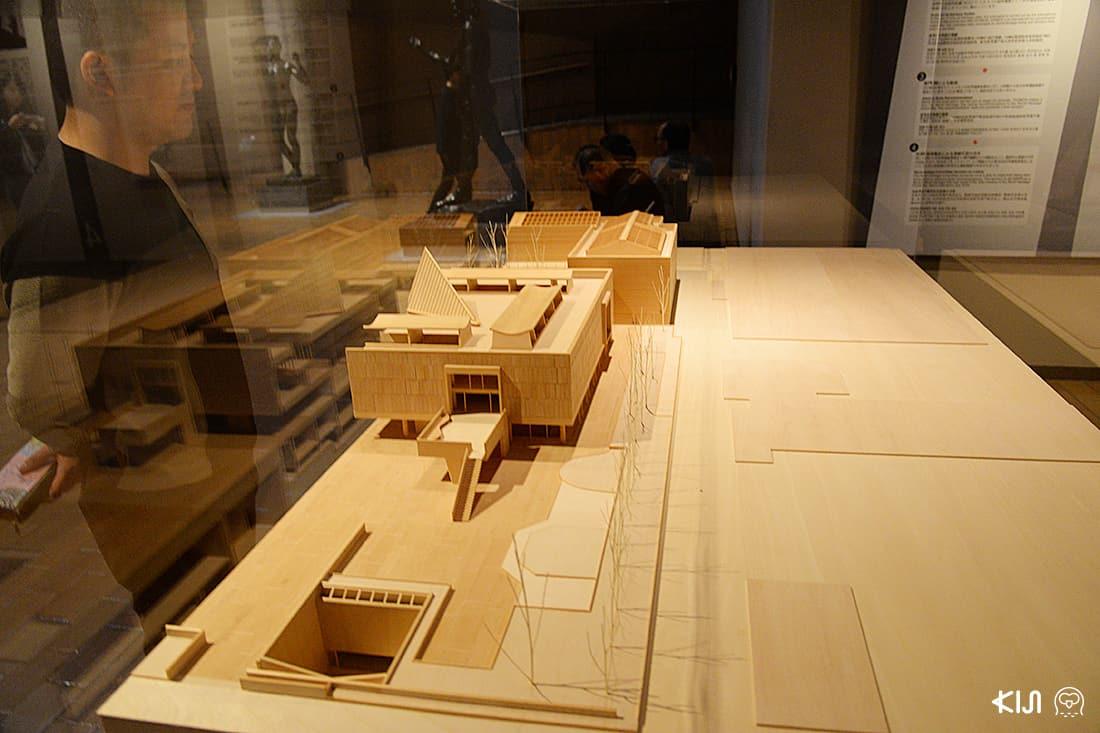 โมเดลพิพิธภัณฑ์ National Museum of Western Art Tokyo