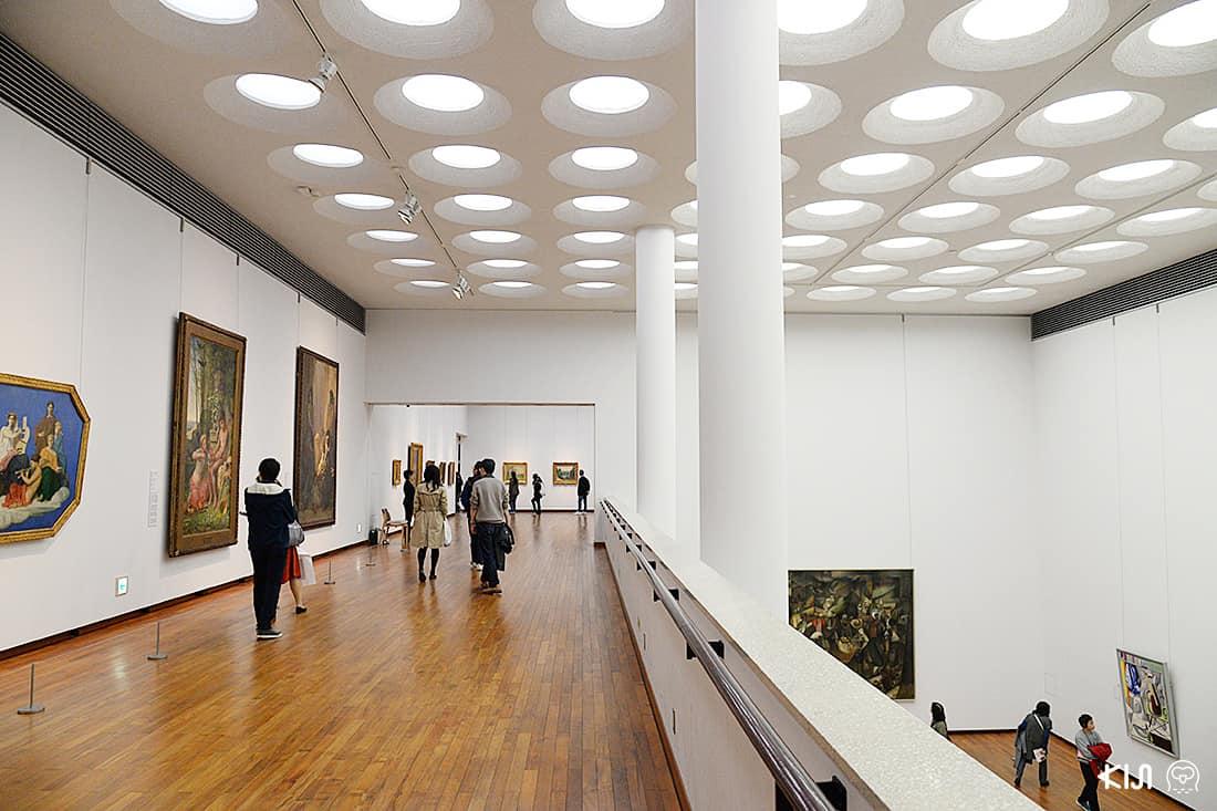 ภายในแกลเลอรี National Museum of Western Art Tokyo