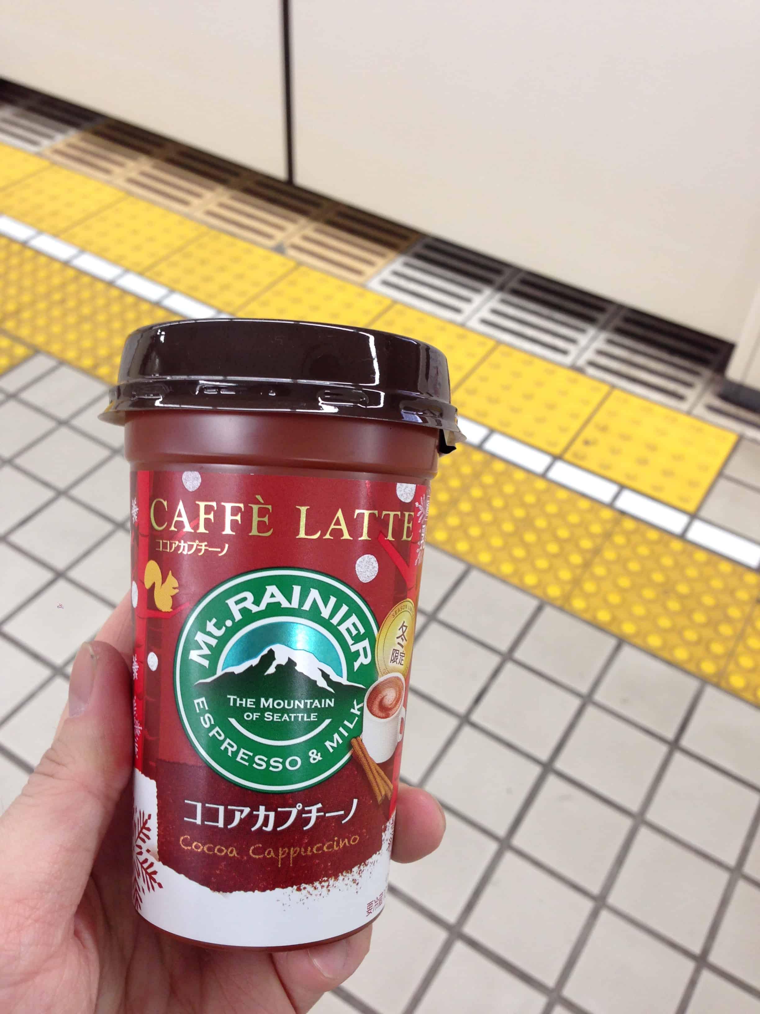 กาแฟลาเต้ Mt.Rainier รส Cocoa Cappuccino