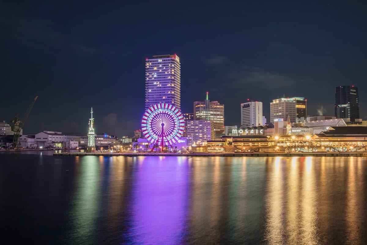 Kobe MOSAIC อาณาจักรแห่งความบันเทิงแบบครบวงจร ณ บริเวณอ่าวโกเบ