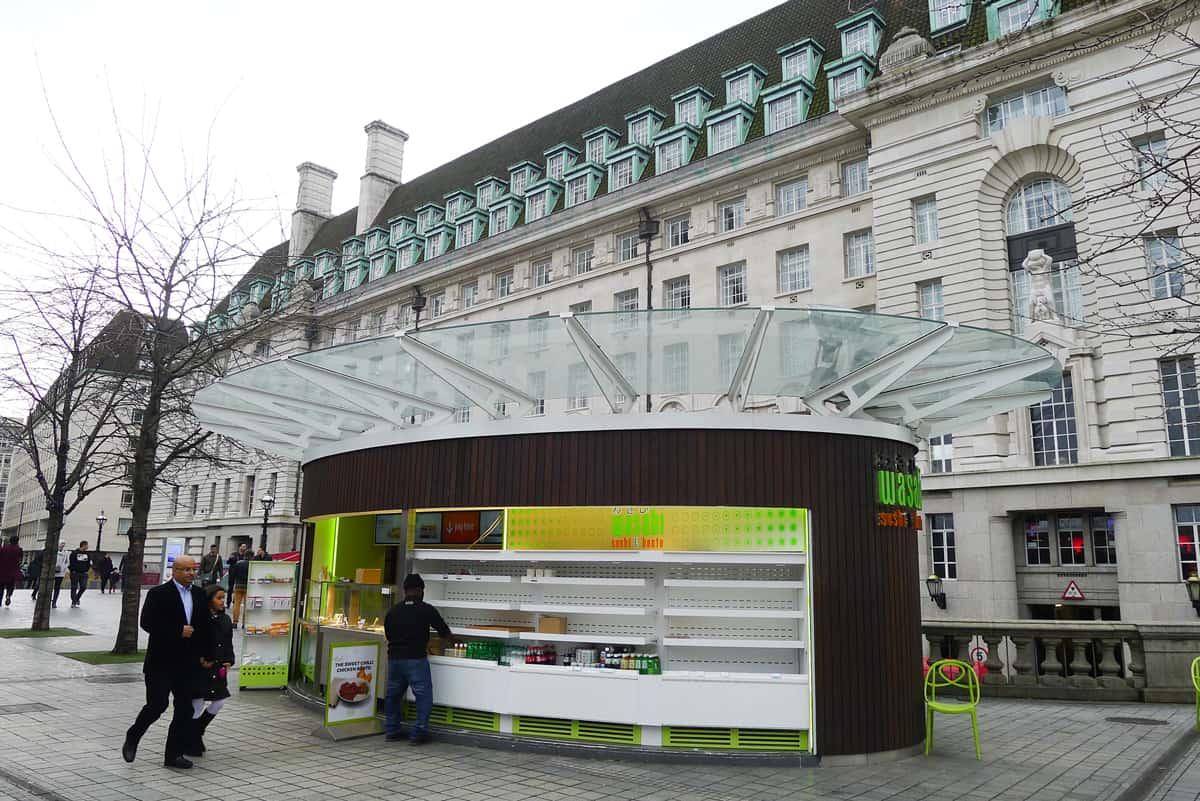 ร้าน Wasabi Sushi & Bento สาขาแถวหน้า London Eyes
