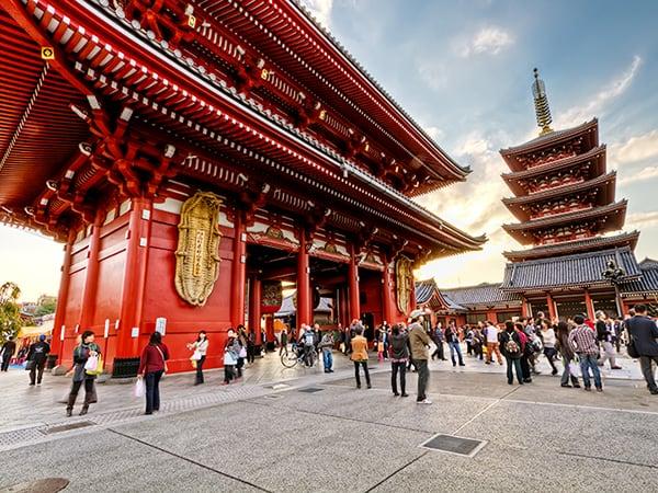 วัดในประเทศญี่ปุ่นกัน : วัดอาซากุสะ (Asakusa Temple)
