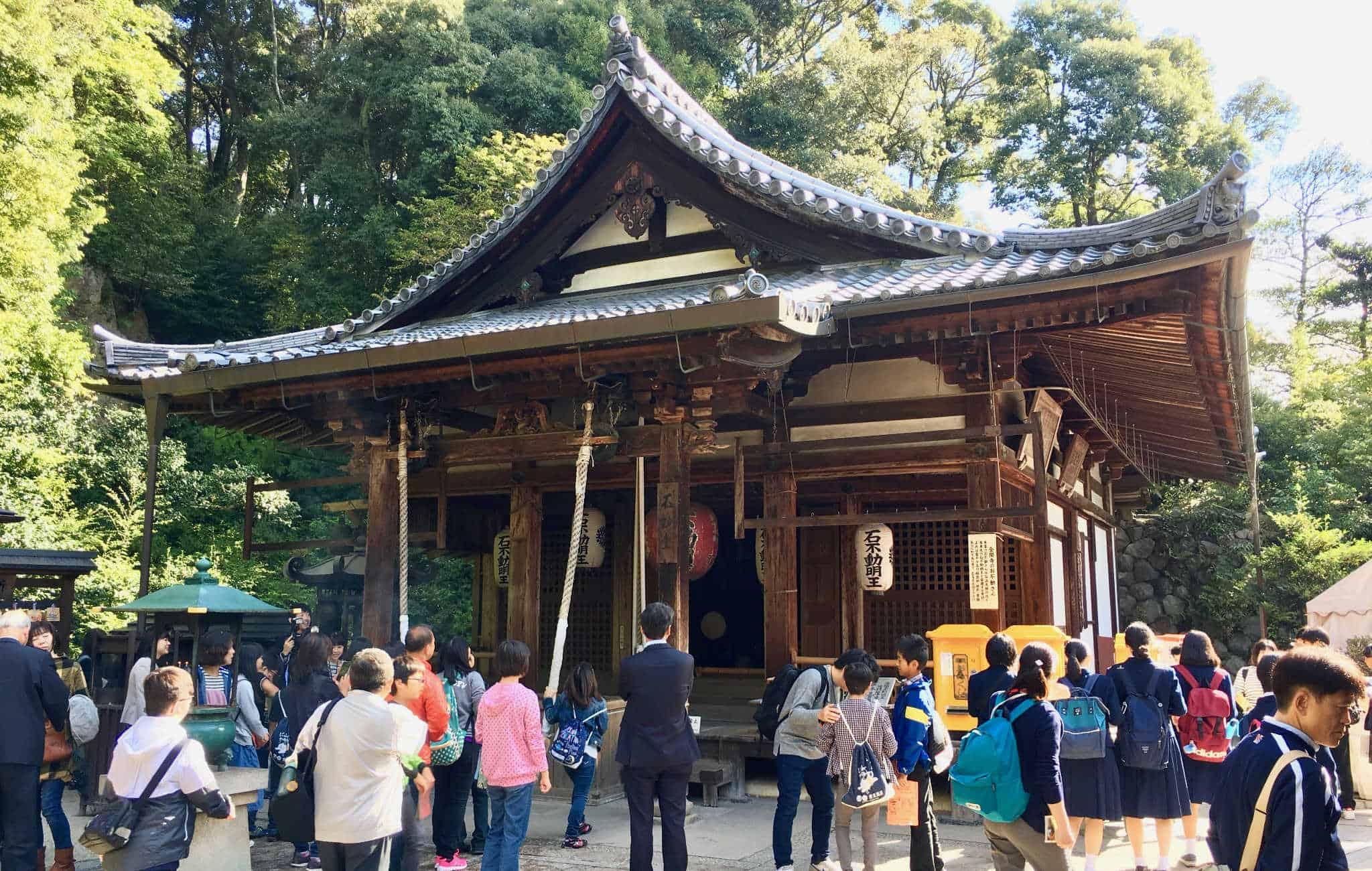 บรรยากาศภายในของวัดคินคาคุจิ (Kinkakuji Temple)