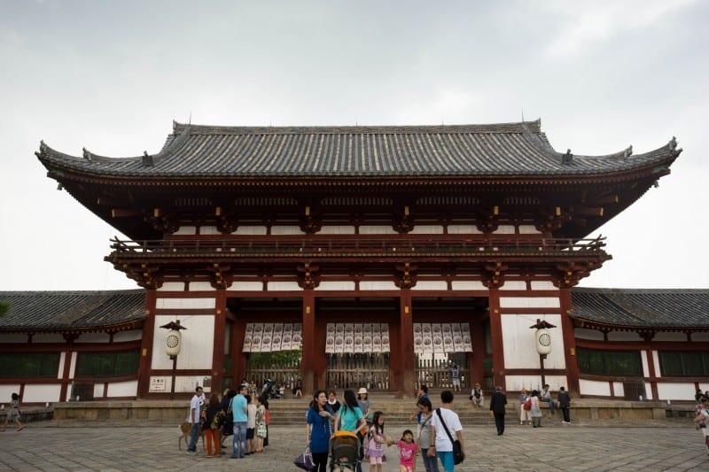 วัดในประเทศญี่ปุ่น : วัดโทไดจิ (Todaiji Temple)