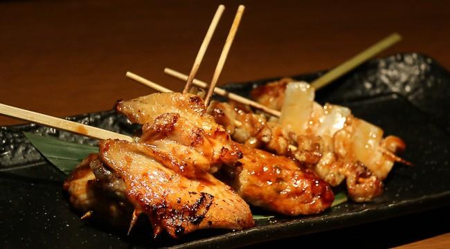 ยากิโทริเนื้อไก่