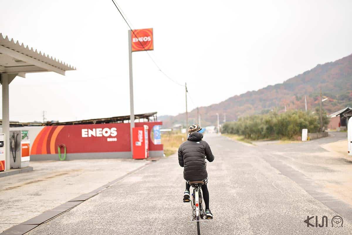 Electric Bicycle บนเกาะเทชิมะ