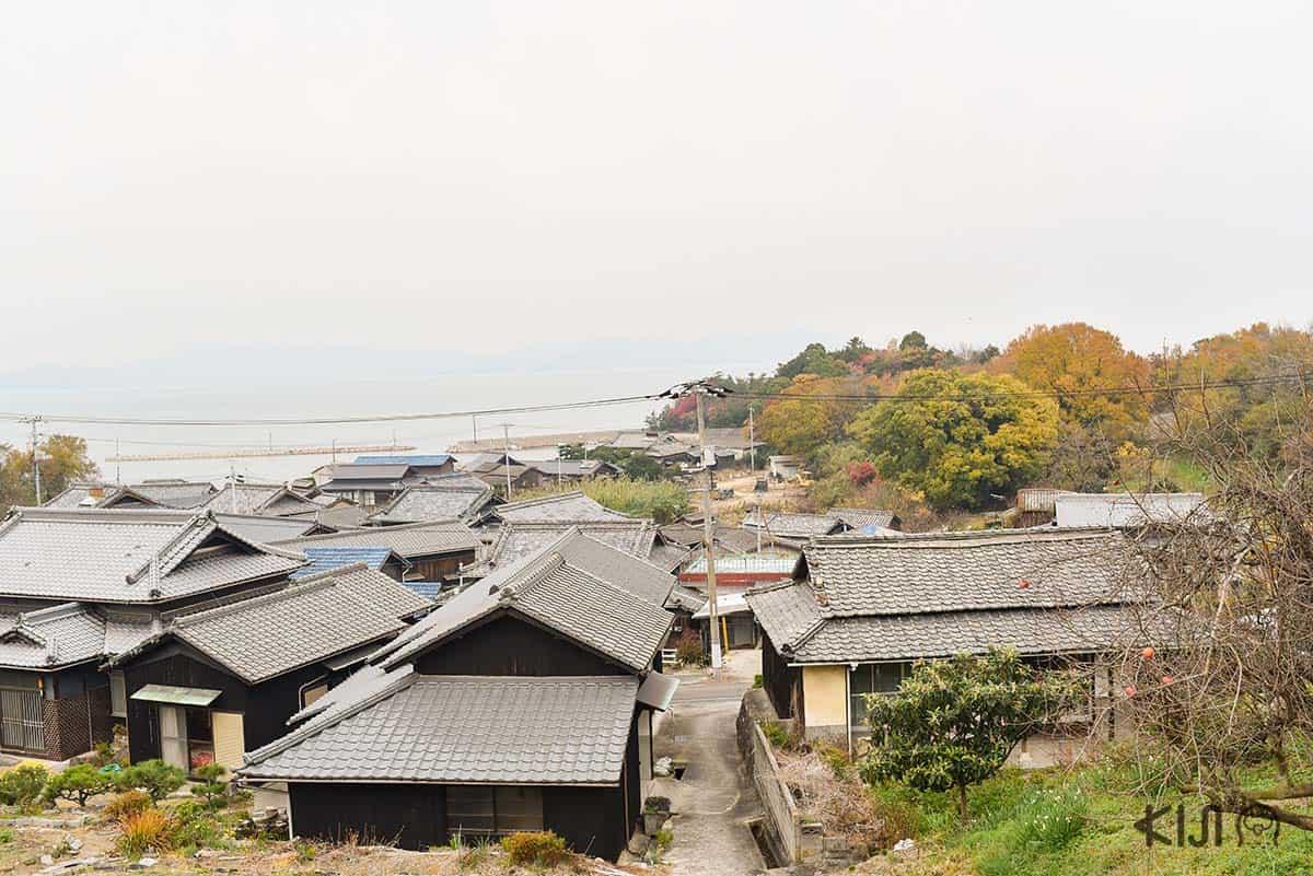 บ้านเรือนบนเกาะเทชิมะ (Teshima)
