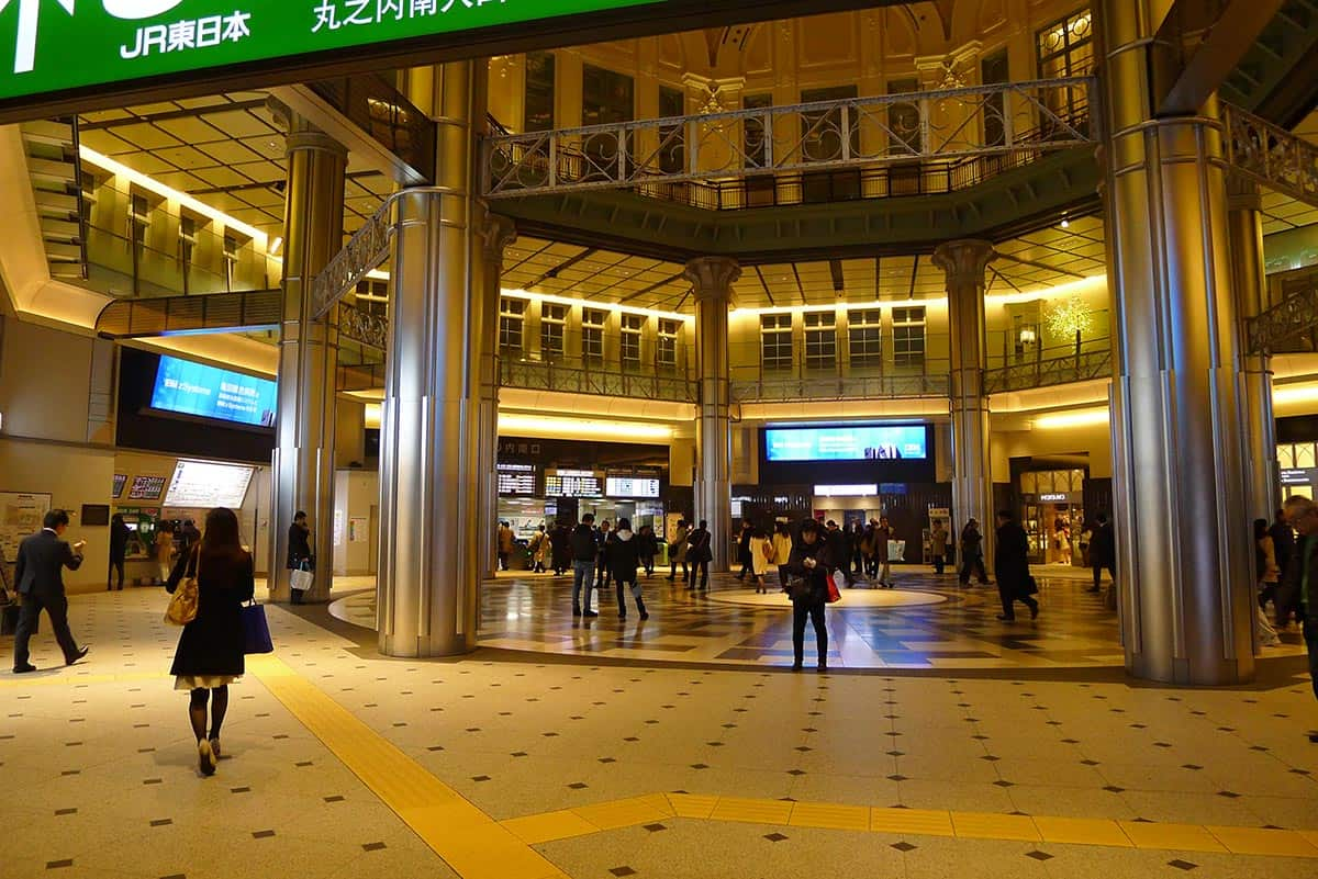 สถาปัตยกรรมสถานีรถไฟโตเกียว Tokyo Station