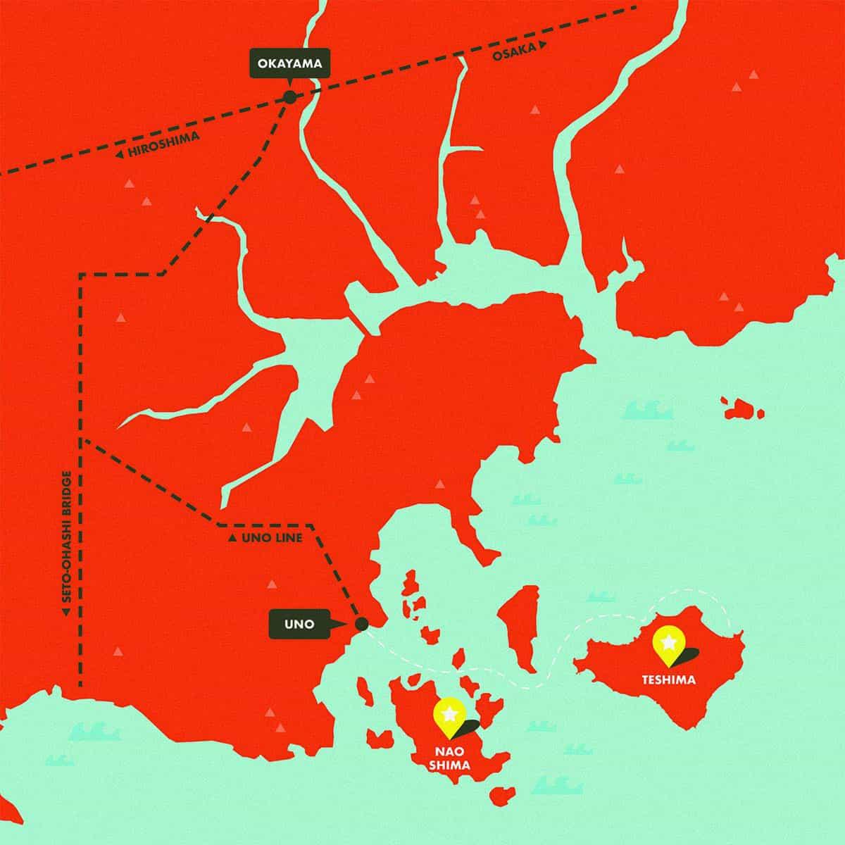 SETO INLAND SEA งานศิลปะติดเกาะ