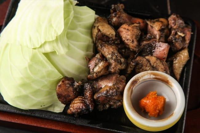 ร้าน Marukin Yakitori : เนื้อมิยาซากิย่างถ่านชาร์โคล