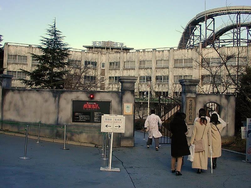 Super Scary Labyrinth of Fearตั้งอยู่ในสวนสนุก Fuji-Q Highland ที่จังหวัดยามะนาชิ ( Yamanashi ) ใกล้กับภูเขาฟูจิ
