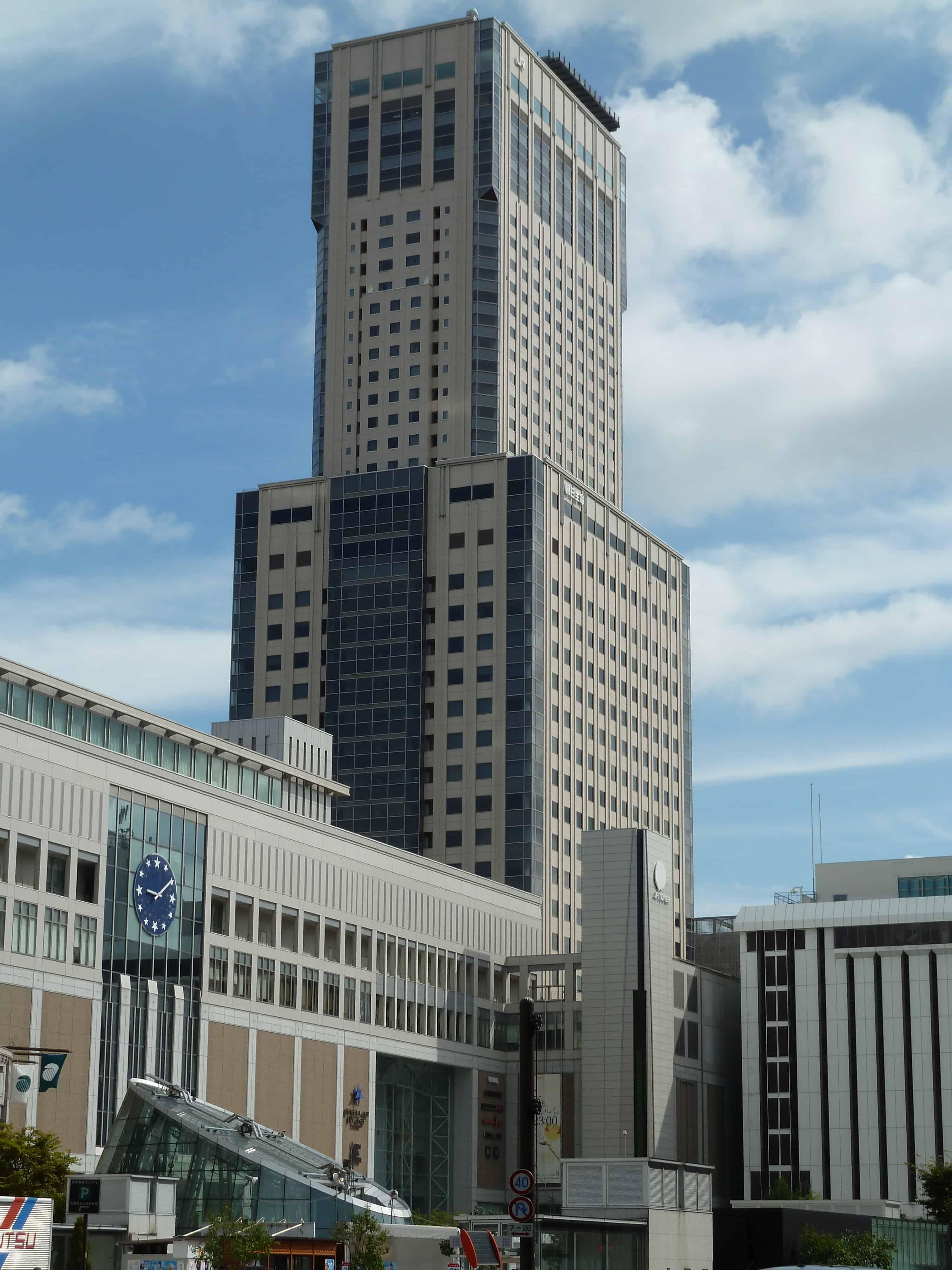 10 ทาวเวอร์ในญี่ปุ่น : Sapporo JR Tower (札幌JRタワー)
