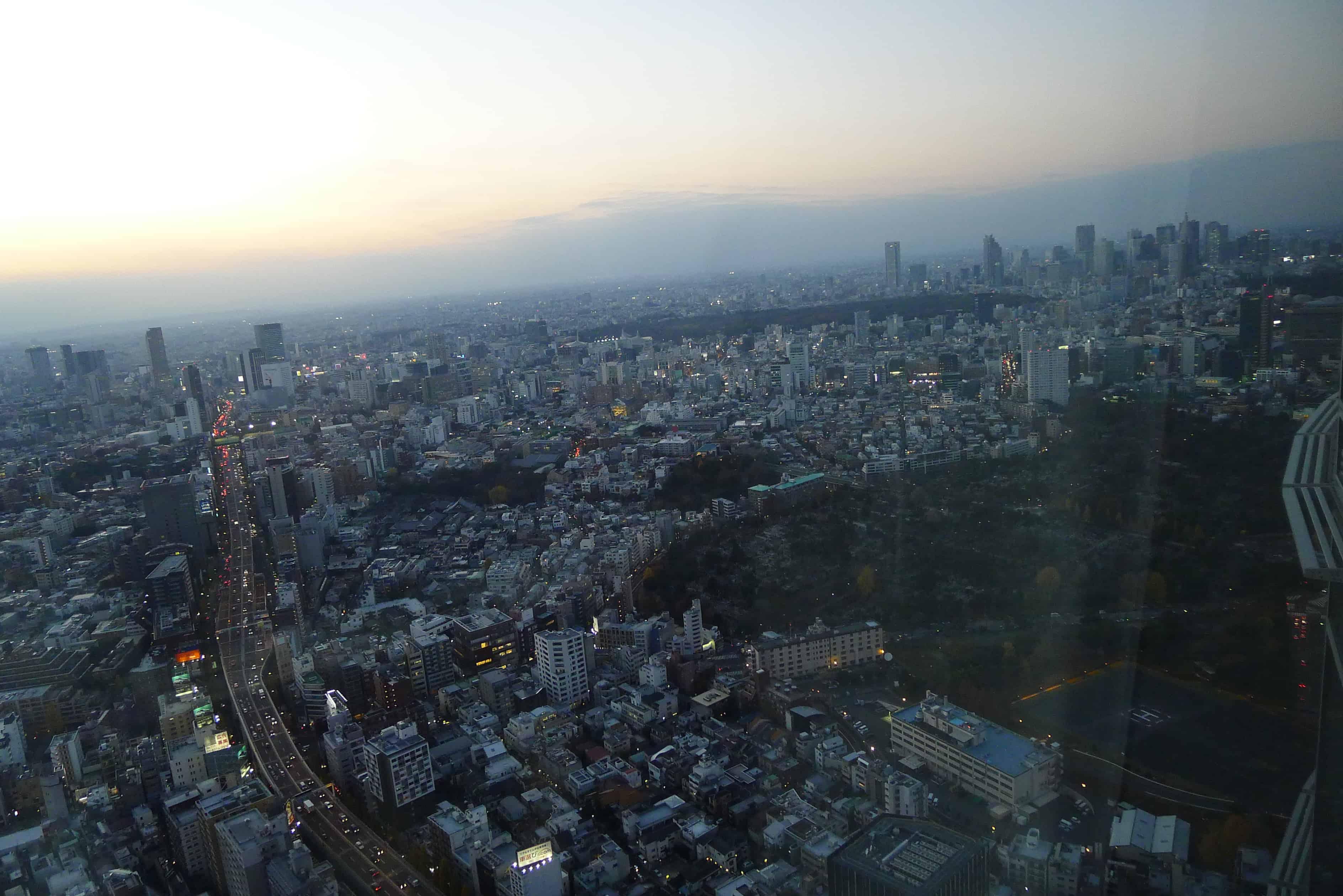 หมู่ตึกระฟ้าย่านชินจูกุ