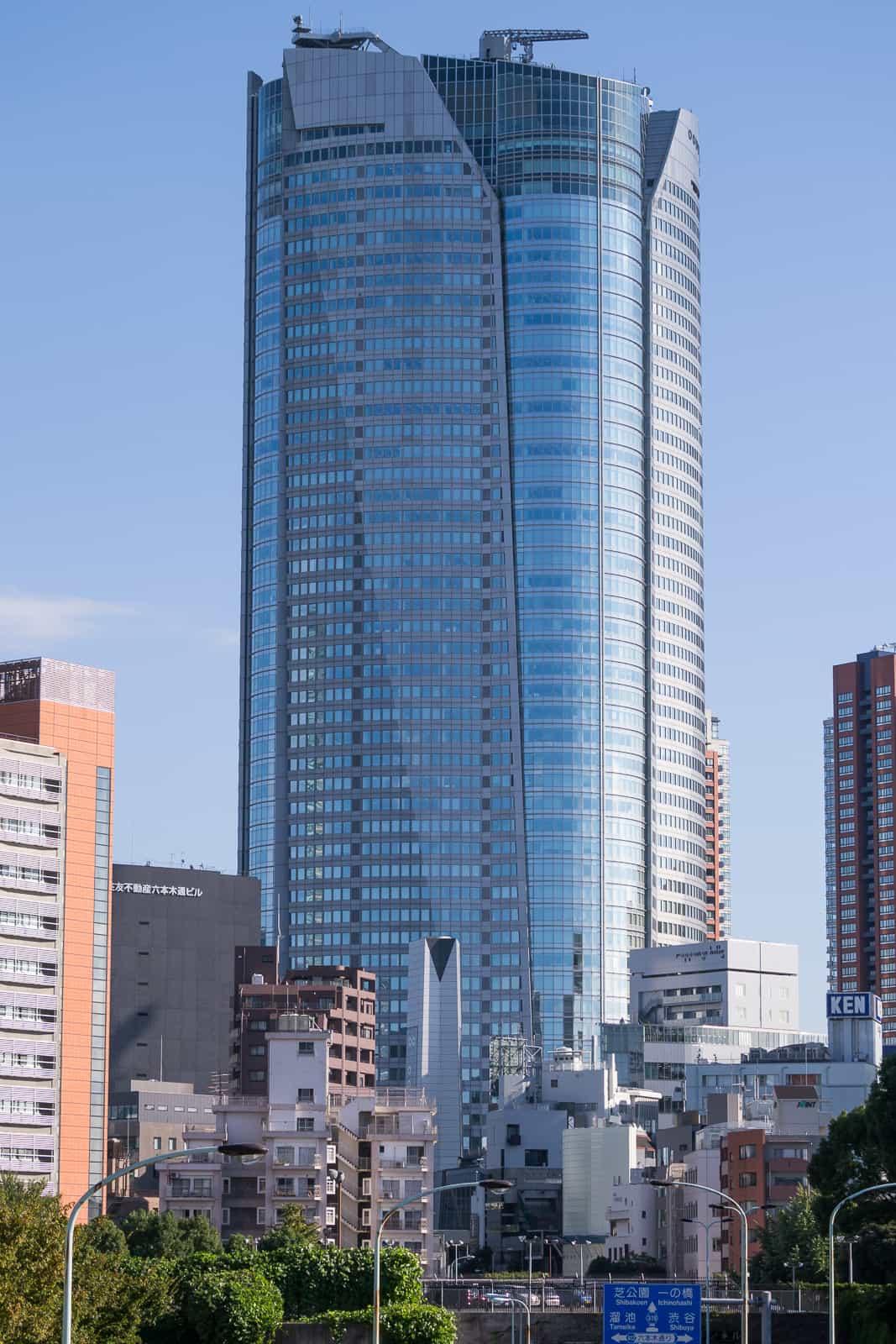 10 ทาวเวอร์ในญี่ปุ่น : Roppongi Hills Mori Tower (六本木ヒルズ森タワー)