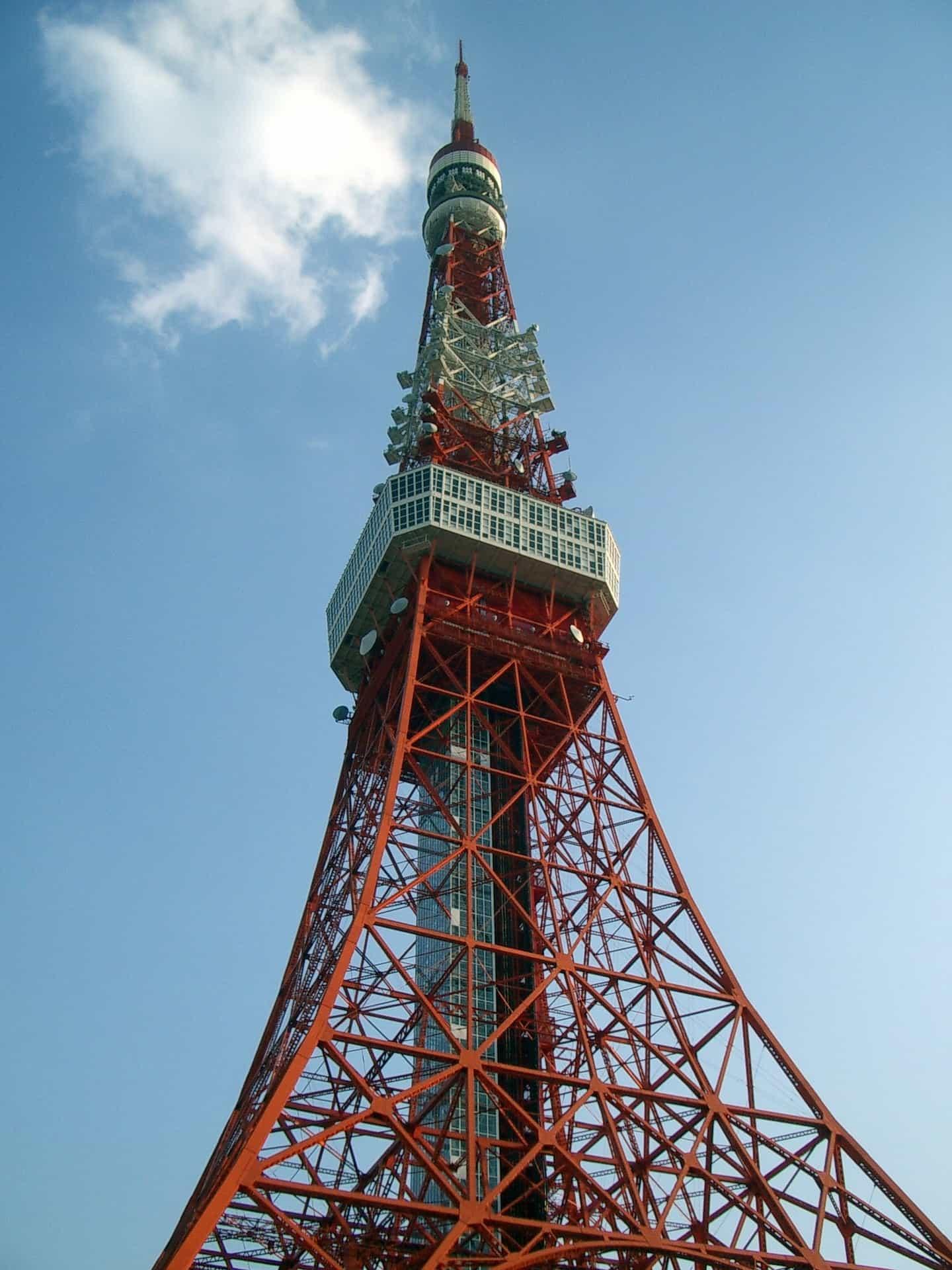 10 ทาวเวอร์ในญี่ปุ่น : Tokyo Tower (東京タワー)