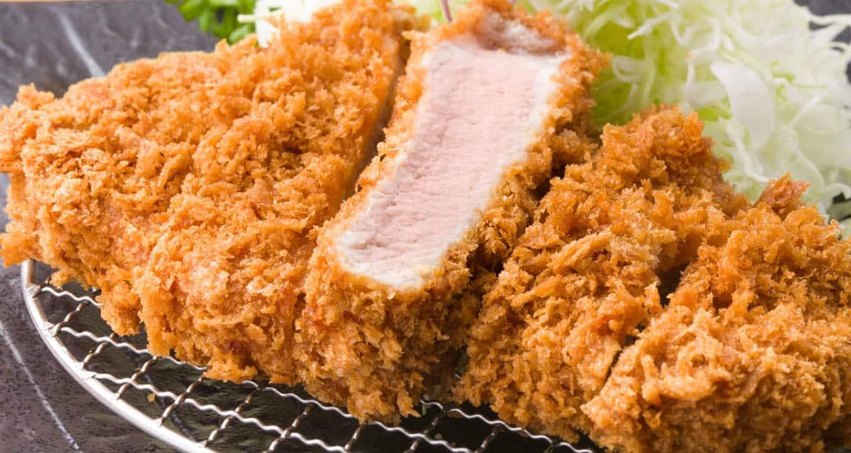 อาหารญี่ปุ่นในชีวิตประจำวัน : ทงคัตสึหมูชุบแป้งทอด