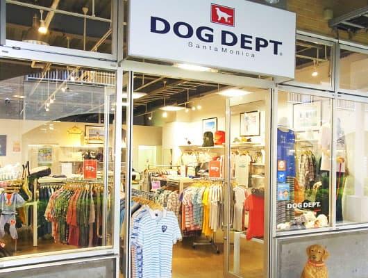 ร้านขายเสื้อผ้าสุนัข DOG DEPT ที่มีช็อปอยู่ที่ Oarai Seaside Station