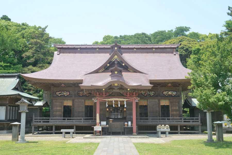 ศาลเจ้าโออาไรอิโซซากิ (Oarai Isosaki Shrine)