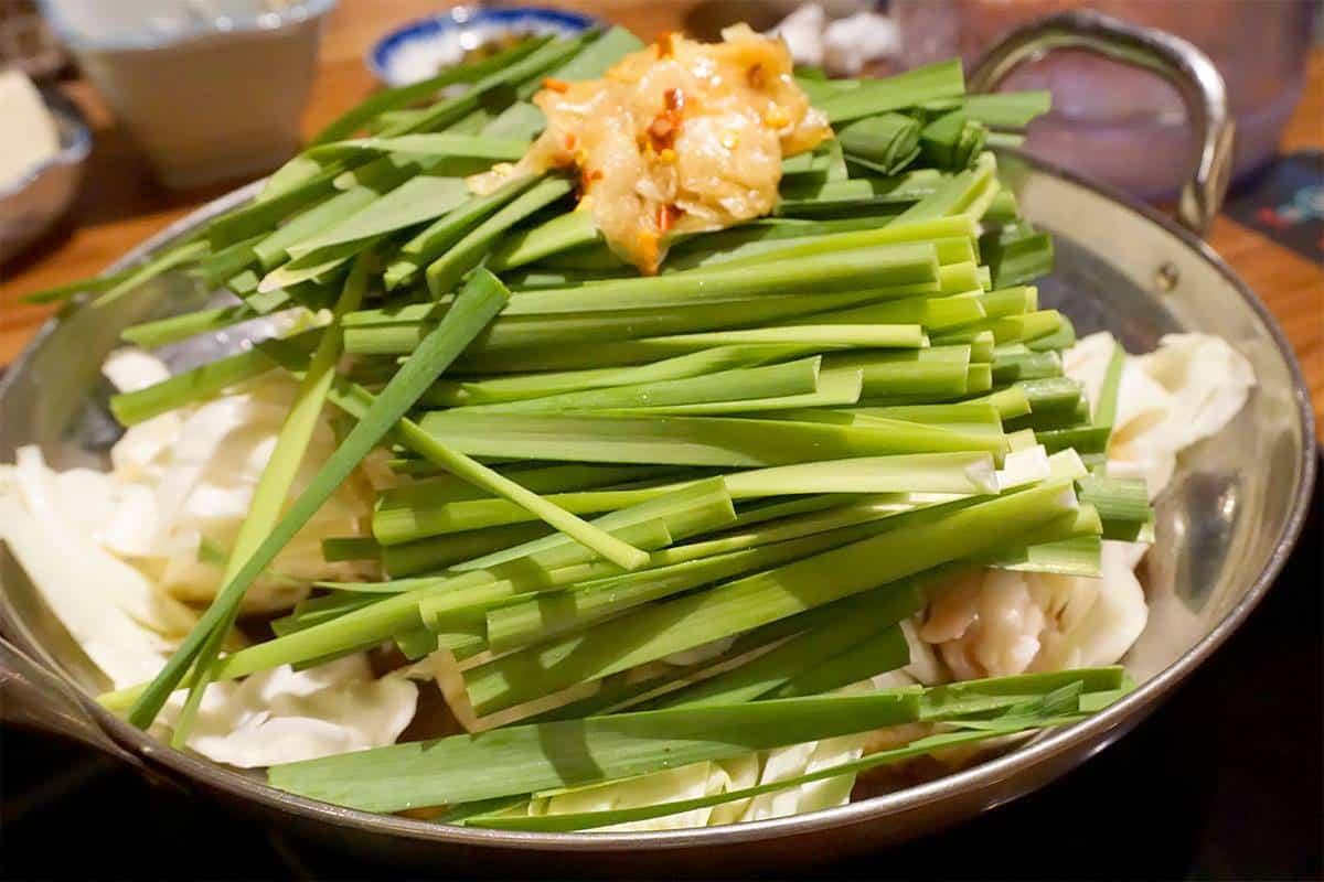 มตสึนาเบะ (Motsunabe) อาหารประจำถิ่นเลื่องชื่อของชาวพื้นถิ่นฮากาตะ