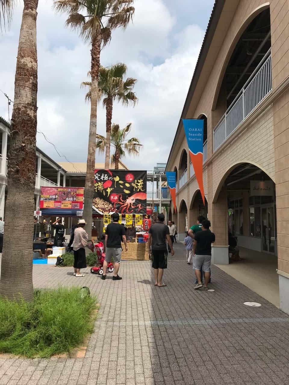 ภาพบรรยากาศของ Oarai Seaside Station