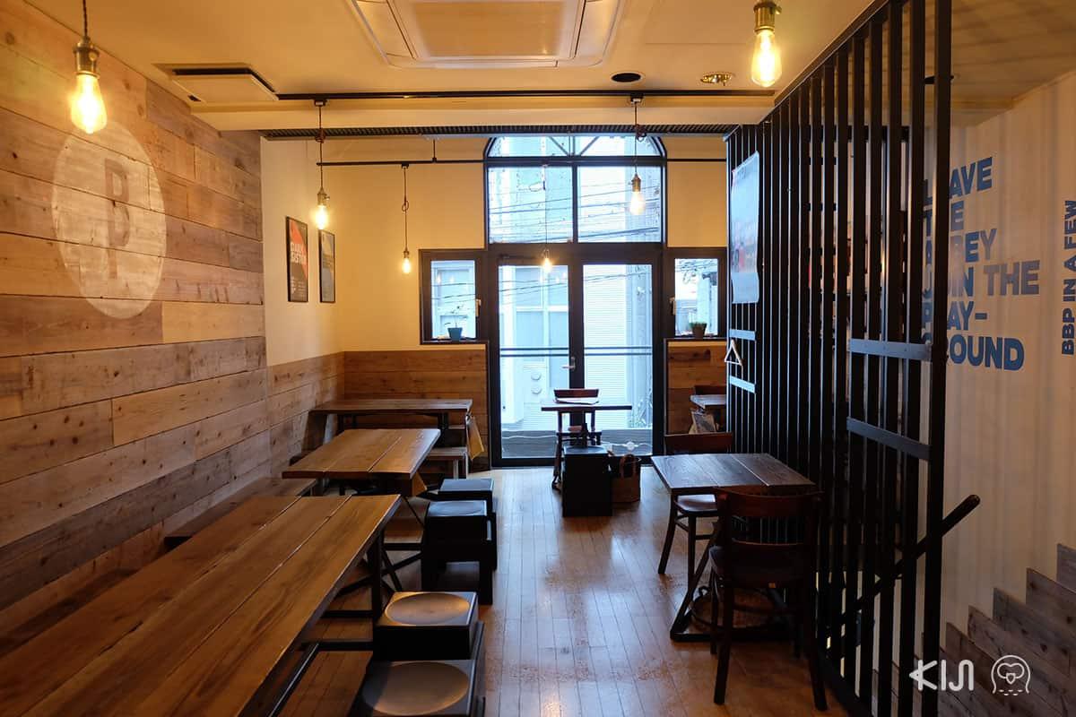 บรรยากาศร้าน Brussels Beer Project Shinjuku