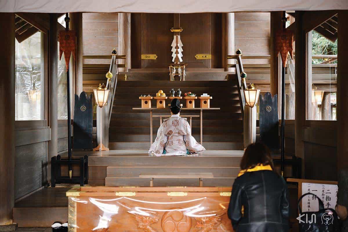 Motoise Kono Shrine ศาลเจ้าโคโนะ (Kono) และเจ้ามานาอิ (Manai)