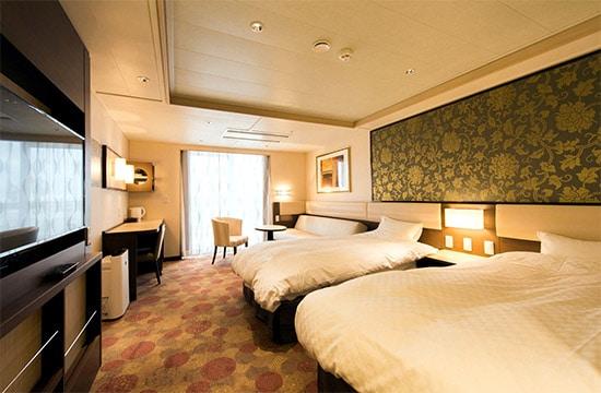 ห้อง Suite ของเรือ Sunflower Atsuma
