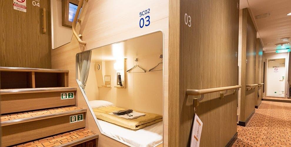 เรือเฟอร์รี่ซันฟลาวเวอร์ (Ferry Sunflower) : ห้อง Comfort ในราคาประหยัดที่สามารถนอนแยกเดี่ยวๆ ได้