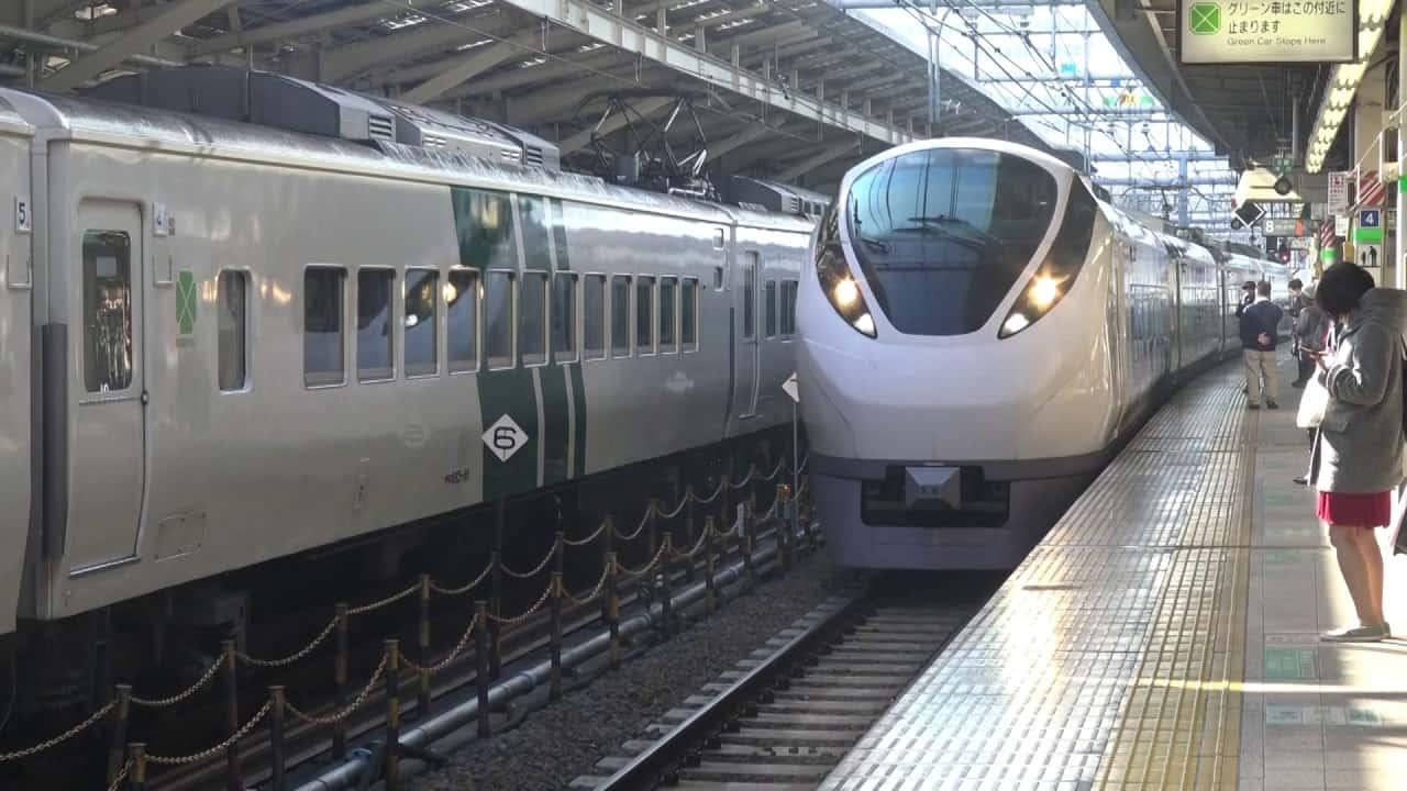 นั่งรถไฟความเร็วสูงจาก สถานี Tokyo ไปลงสถานี Mito 3,818 เยน ใช้เวลาประมาณ 1 ชั่วโมง 20 นาที