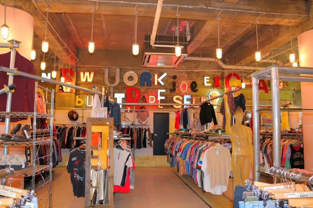 บรรยากาศภายในร้าน NEW YORK JOE EXCHANGE ที่ย่านชิโมะคิตะซาว่า (Shimokitazawa)