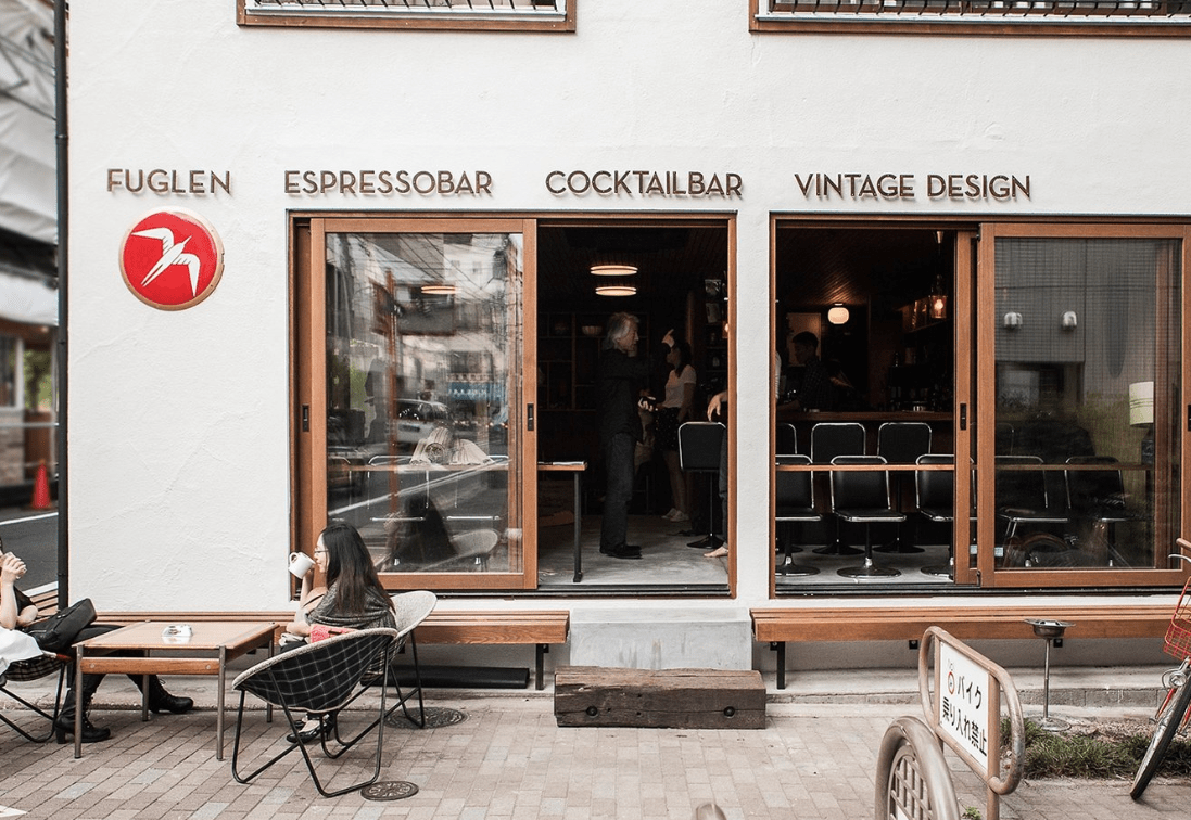 ร้านกาแฟ Specialty Coffee ในโตเกียว : Fuglen