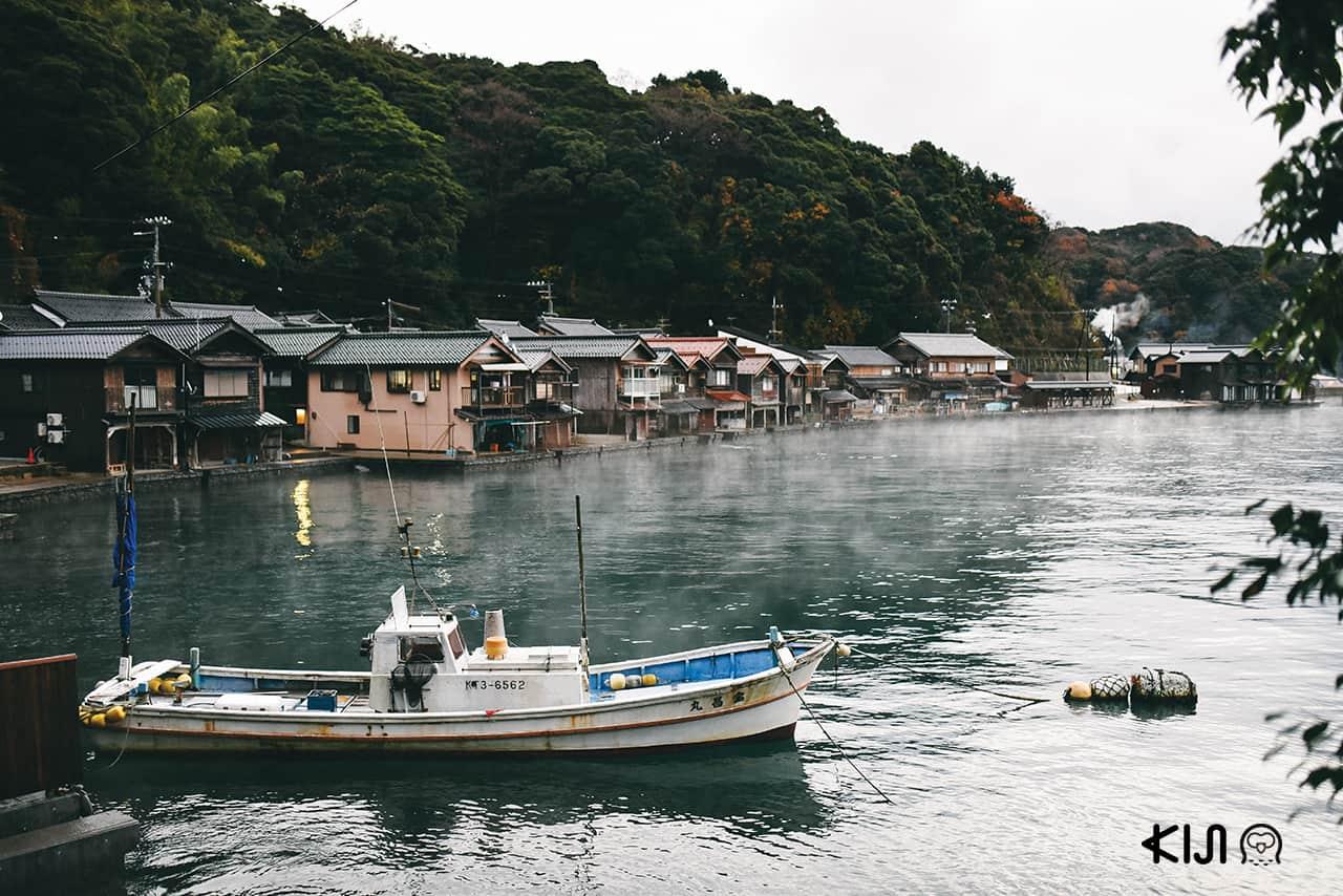 หมู่บ้านอิเนะ จังหวัดเกียวโต