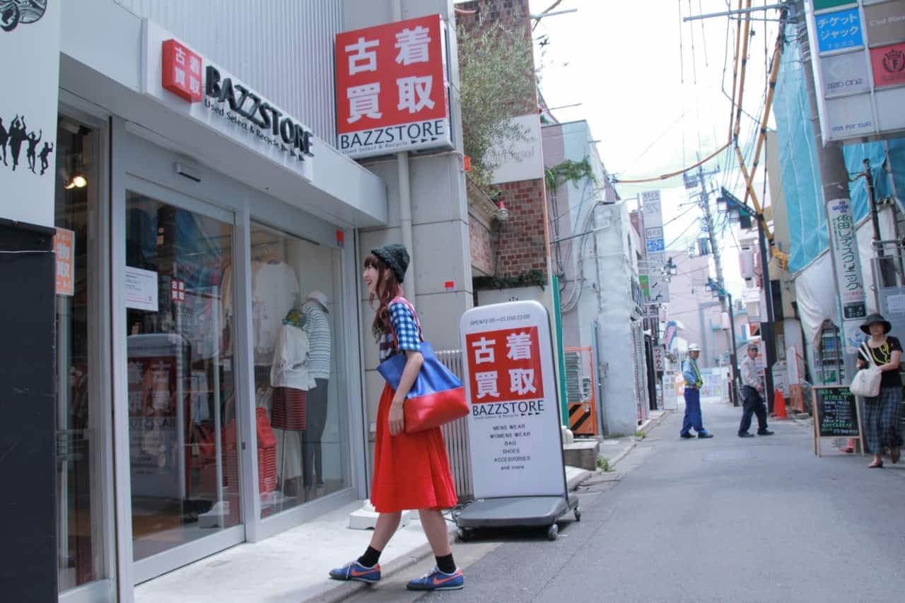หน้าร้าน BAZZSTORE สาขา Shimokitazawa North Exit