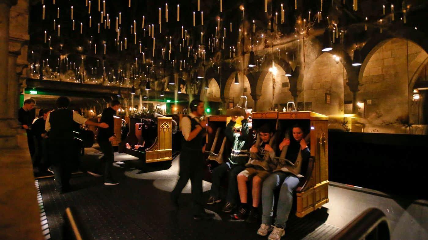 เครื่องเล่น Harry Potter and the Forbidden Journey™