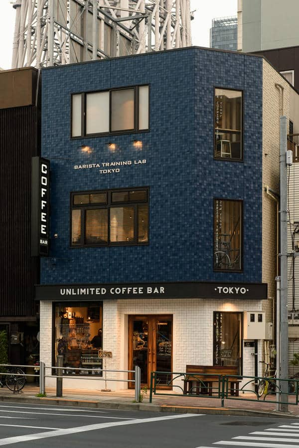 ร้านกาแฟ Specialty Coffee ในโตเกียว : Unlimited Coffee Bar