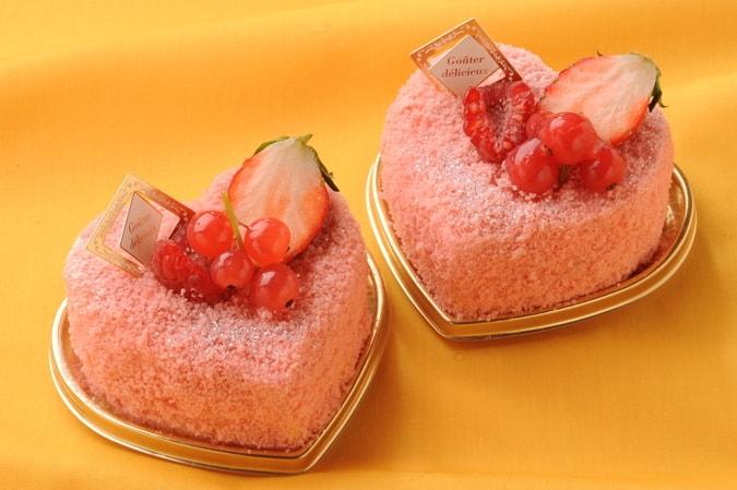 เค้กรูปหัวใจ Tochi Otome Chesse Cake ราคา 520 เยน ไม่รวมภาษี ที่ร้าน Berry Berry