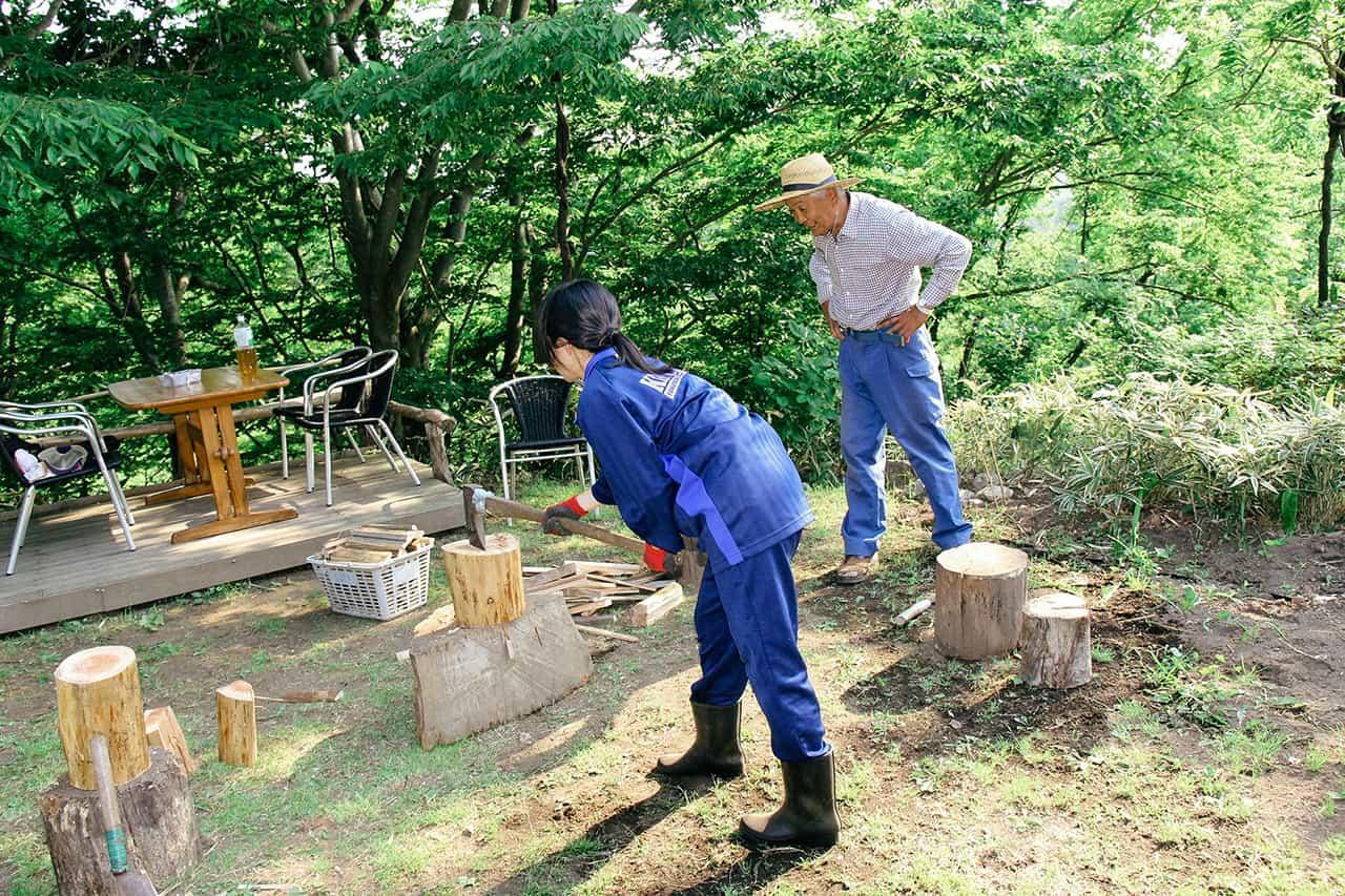 กิจกรรมภายในฟาร์มสเตย์ Komaki no Ie