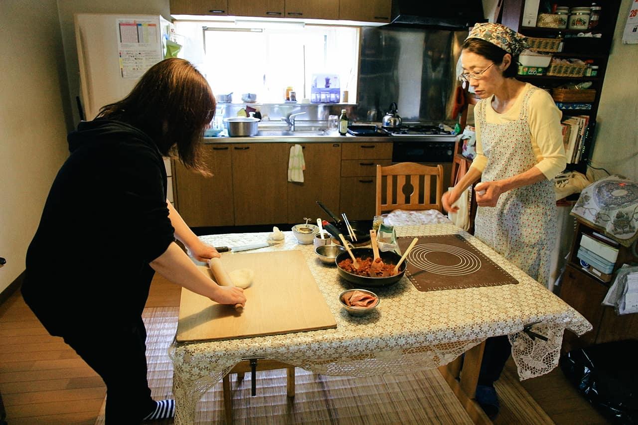สอนวิธีการทำอาหารญี่ปุ่นที่ Komaki no Ie