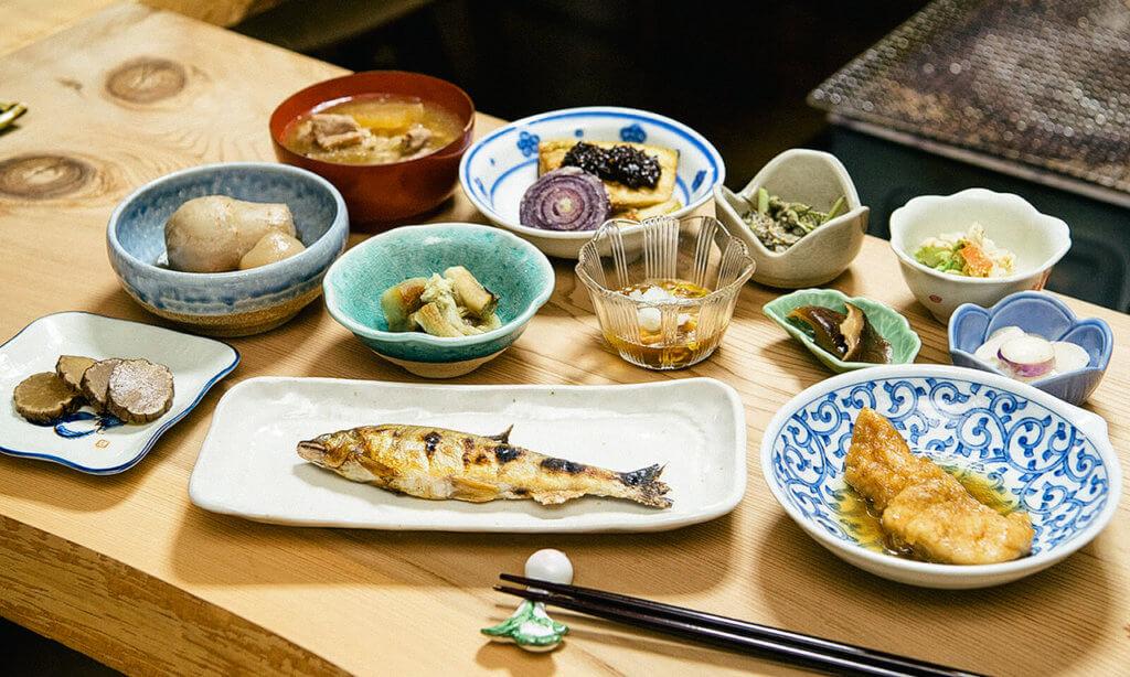 อาหารของที่พัก Most Popular Farm Inn at Akita