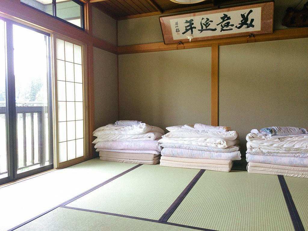 บรรยากาศภายในห้องพักที่ Most Popular Farm Inn at Akita