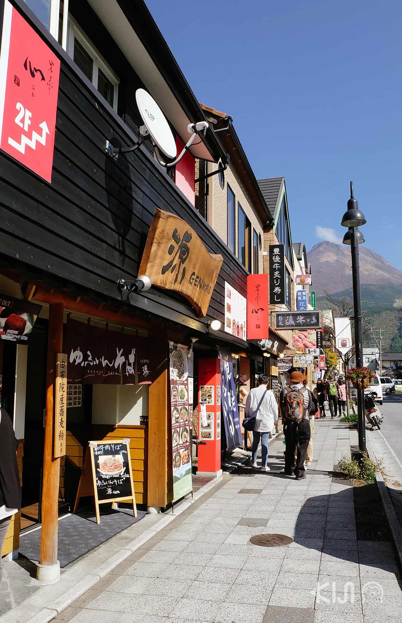 ร้านรวงต่างๆภายในหมู่บ้านยุฟุอิน (Yufuin)