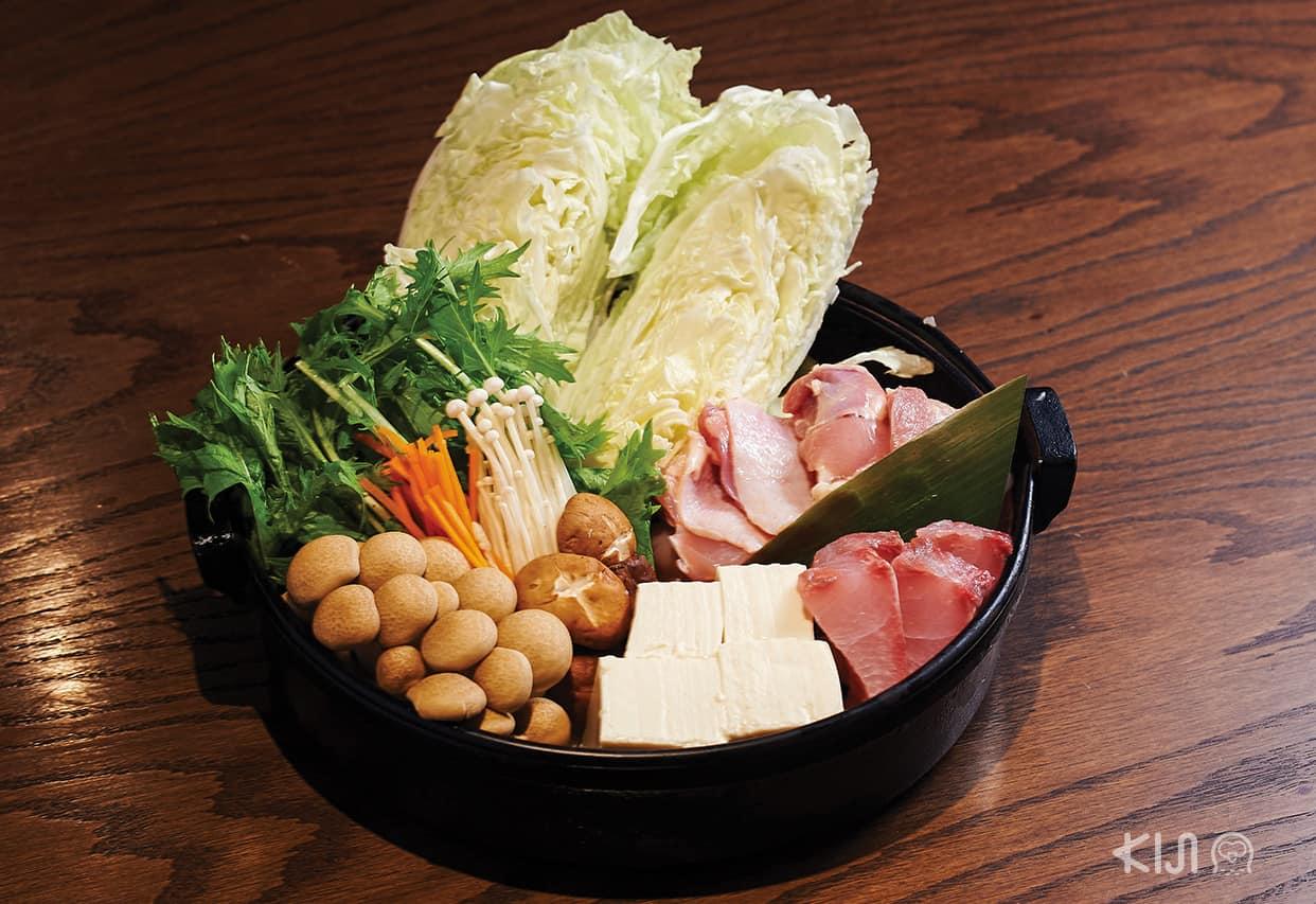 อาหารร้าน Hachikin