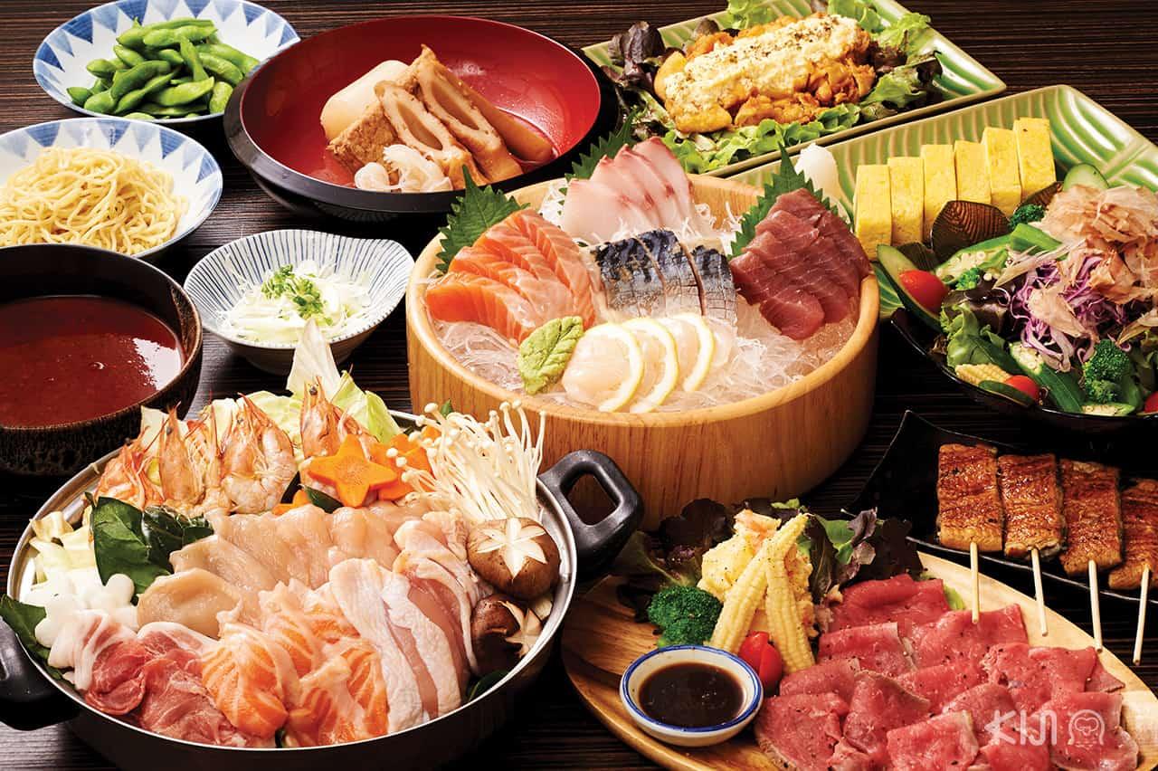 อาหารของร้าน Itoya