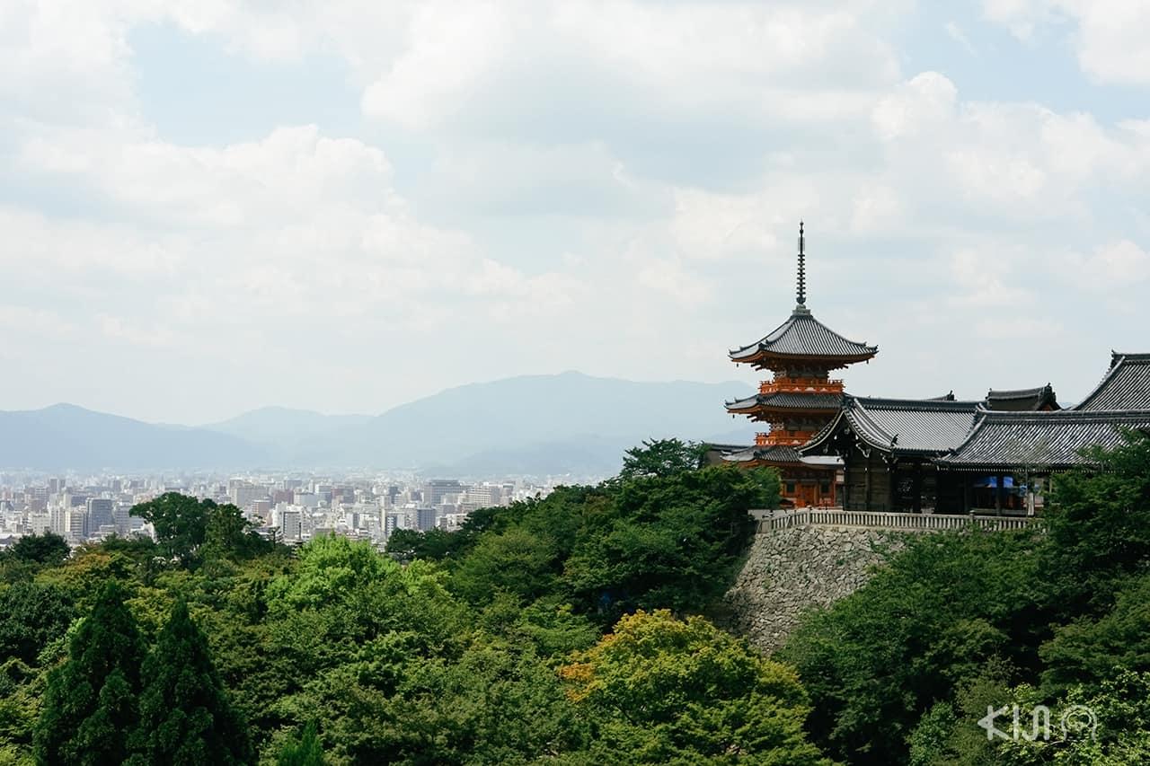 วัดน้ำใส (Kiyomizu-dera) จังหวัดเกียวโต