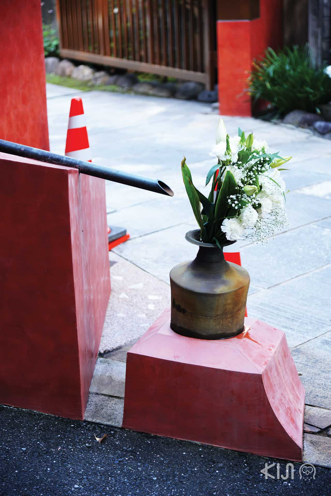 การตกแต่งของวัดคันโนะจิ (Kannoji Temple)