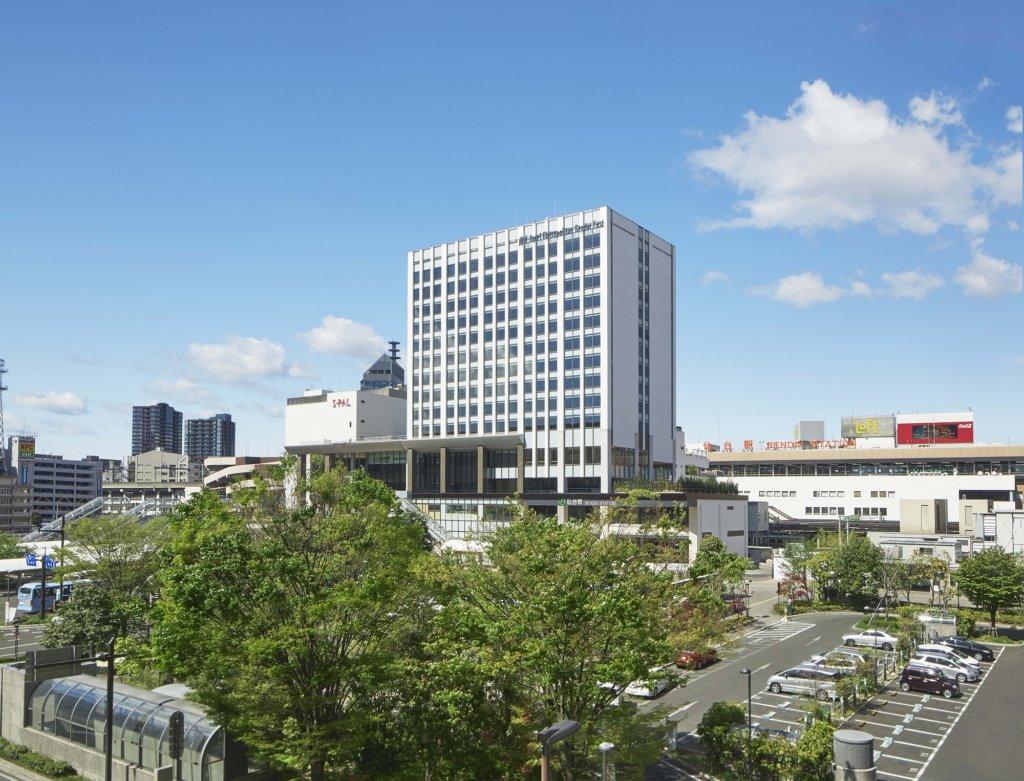 โรงแรม Metropolitan Hotel Sendai East ติดกับสถานีเซ็นได